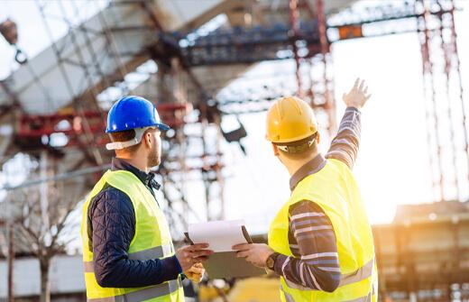 บริการบริหารและควบคุมงานก่อสร้าง